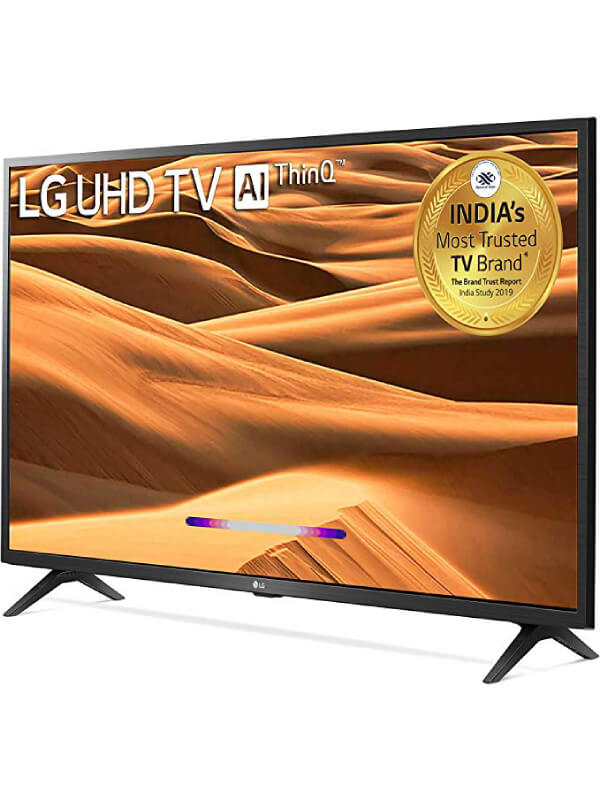 LG 108 cms (43 inches) 4K Ultra HD Smart LED TV