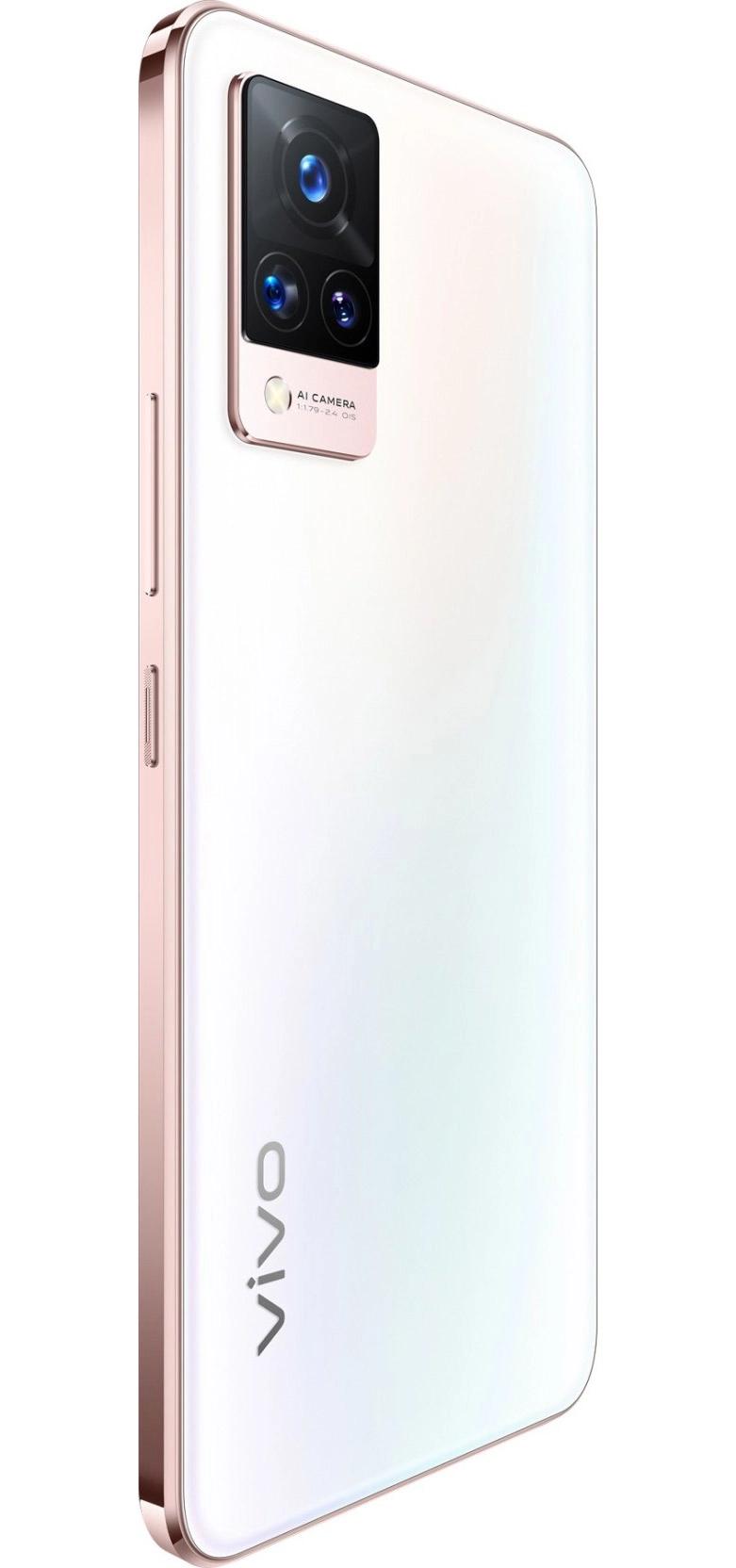Vivo V21 5G  Arctic White 8GB   128 GB
