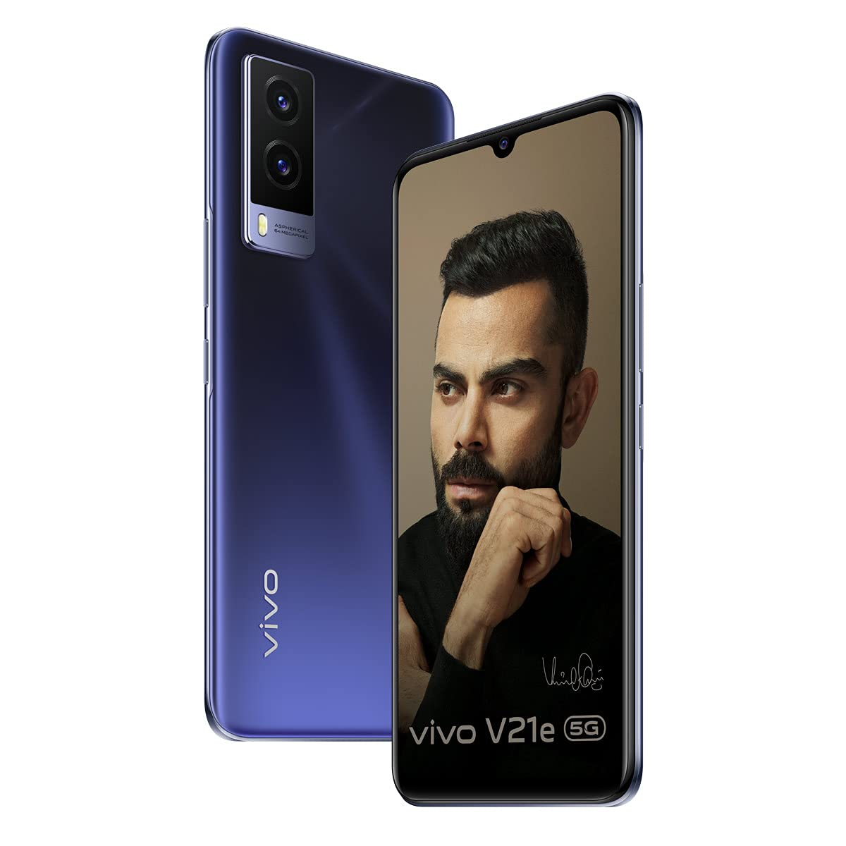 Vivo V21e 5G Dark Pearl 8GB | 128GB