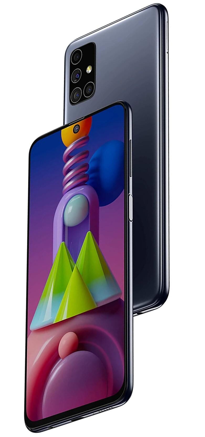 Samsung Galaxy M51 Celestial Black 8GB|128GB