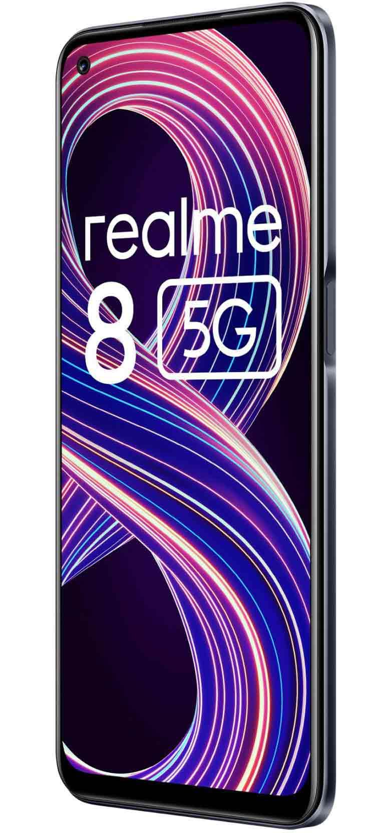 Realme 8 5G Supersonic Black 8GB | 128GB