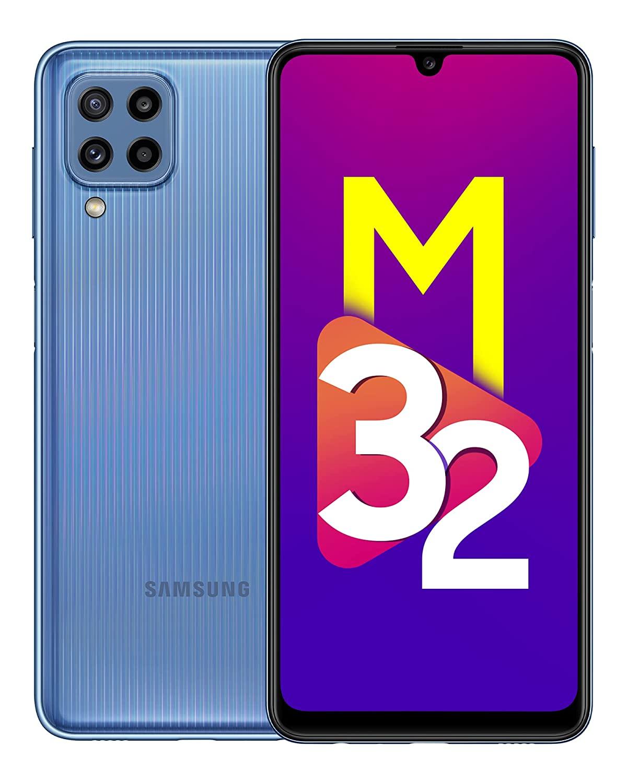Samsung Galaxy M32 Light Blue 6GB   128GB