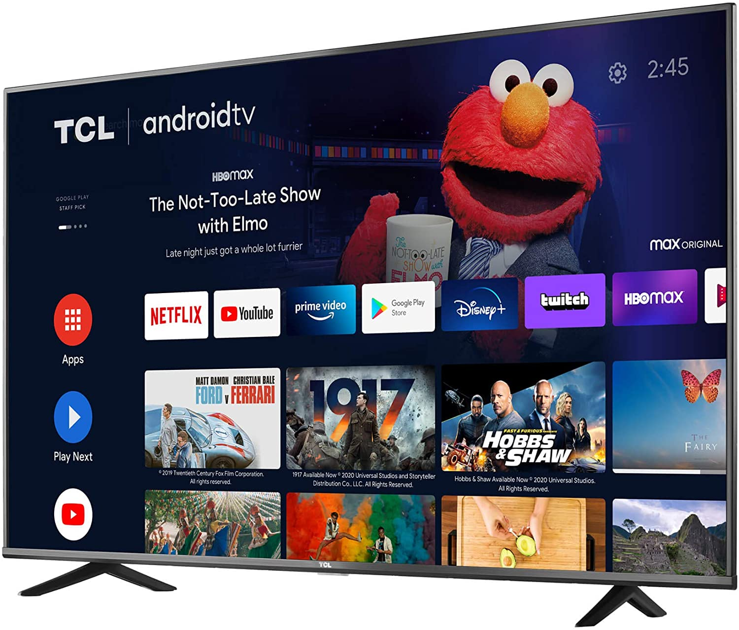 TCL 43 inch- 4K Ultra HD Smart Android LED TV- 43P615