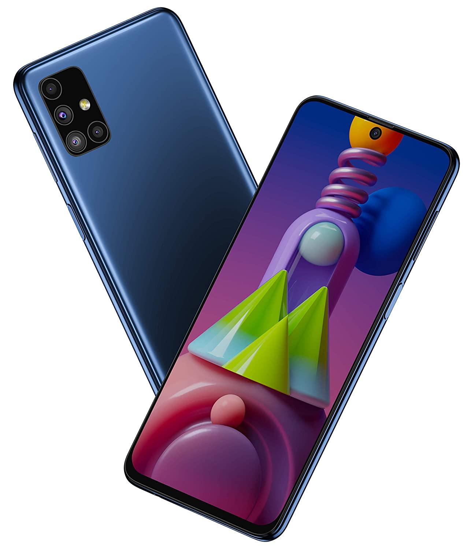 Samsung Galaxy M51 Electric Blue 8GB|128GB