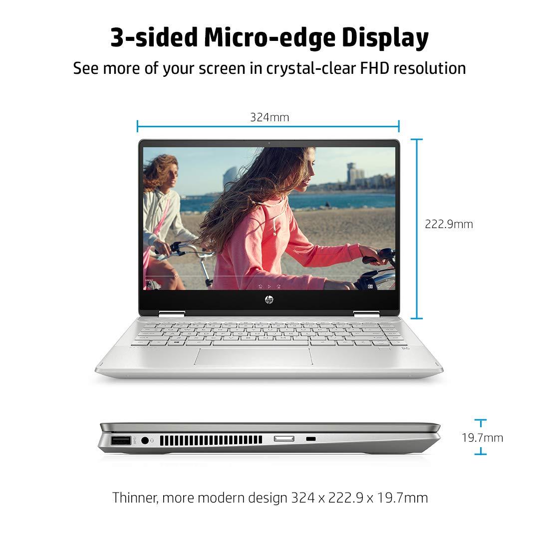 HP Pavilion X360 Laptop 14-dh1178TU 10th Gen Intel Core i3-10110U/8 GB/512 GB SSD