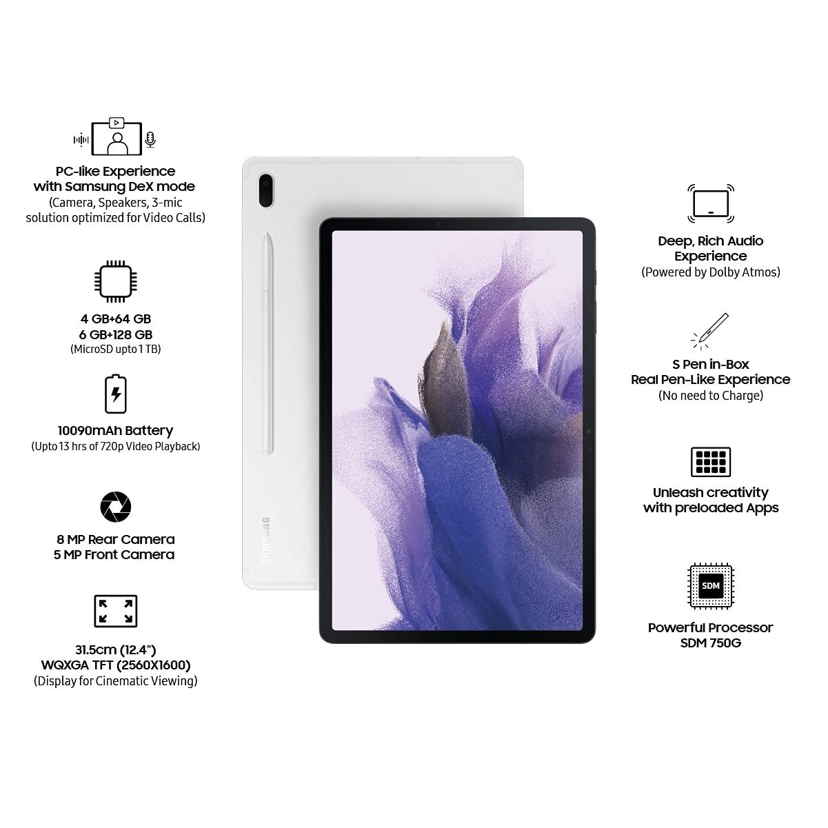 Samsung Galaxy Tab S7 FE Mystic Silver 4GB   64GB