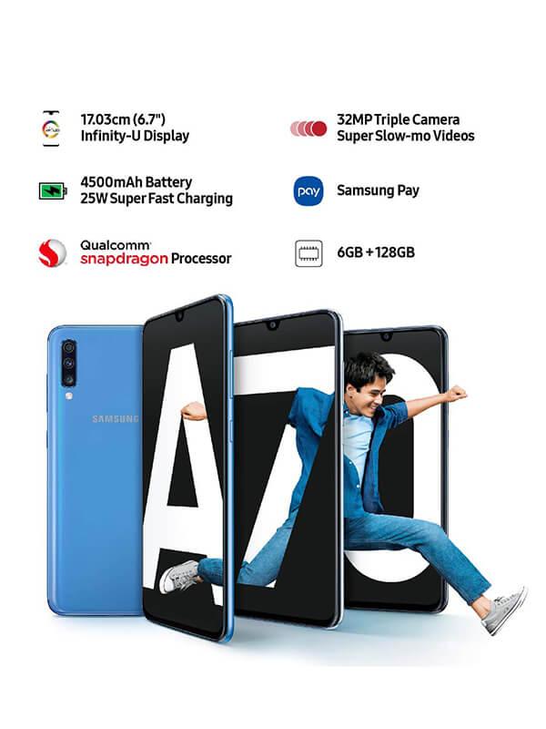 Samsung Galaxy A70 Blue 6GB/128GB
