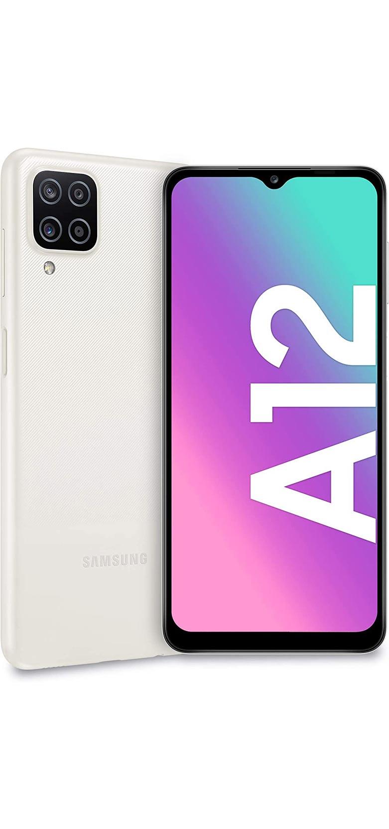 Samsung Galaxy A12 White 4GB   128GB