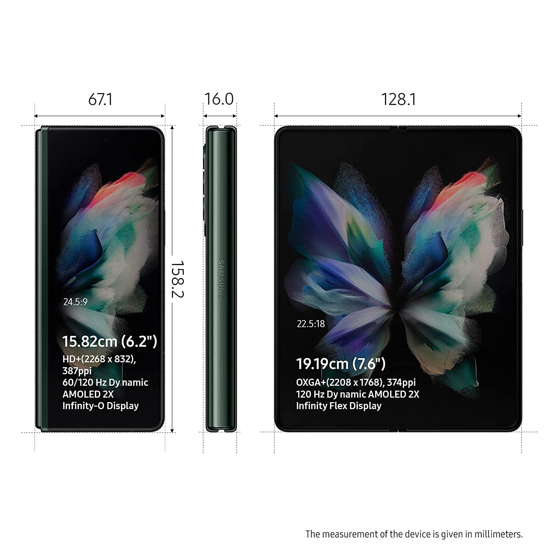Samsung Galaxy Z fold 3 5g Phantom Green 12 GB | 256GB