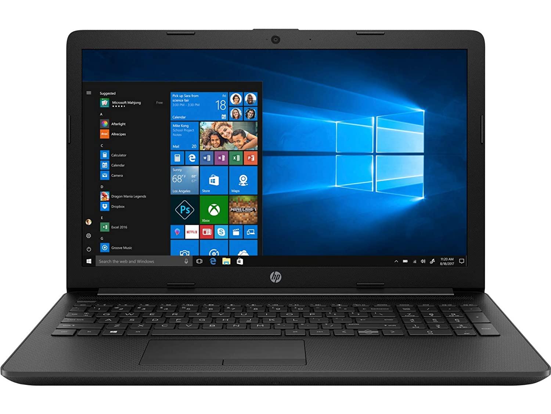 HP 15 Ryzen 3 Dual Core 3200U HP 15 db1069AU Laptop 15.6-inch 4GB/1TB HDD Jet Black